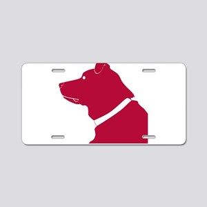 Labrador retriever dog Aluminum License Plate