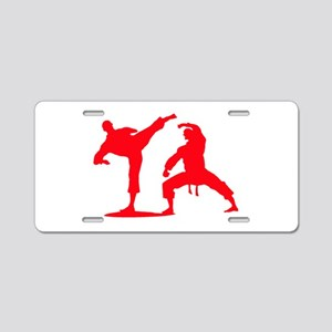 Surely Not Everybody Was Kung Fu Fighting Aluminum License Plates
