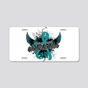 Ovarian Cancer Awareness 16 Aluminum License Plate