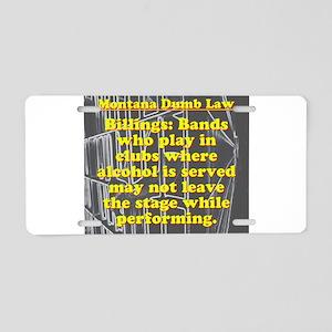 Stupid Laws Aluminum License Plates - CafePress