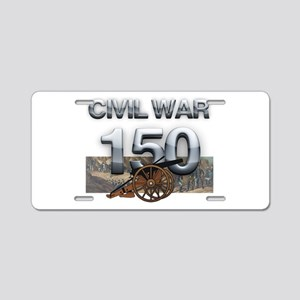 ABH Civil War Aluminum License Plate