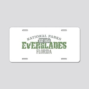 Everglades National Park FL Aluminum License Plate