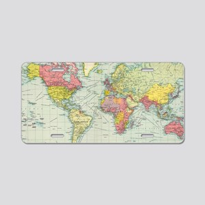 World Map Aluminum License Plates - CafePress on license plate colors, license plate france, license plate malaysia, license plate water, license plate numbers, license plate mexico, license plate russia, license plate singapore, license plate italy, license plate clock, license plate art, license plate collection, license plate search, license plate germany, license plate united states, license plate syria, license plate china, license plate games, license plate country, license plate south africa,