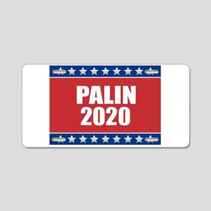 Sarah Palin 2020 Aluminum License Plate