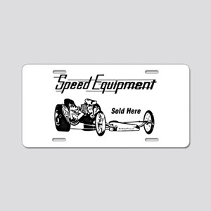 Speed Equipment sold here-1 Aluminum License P