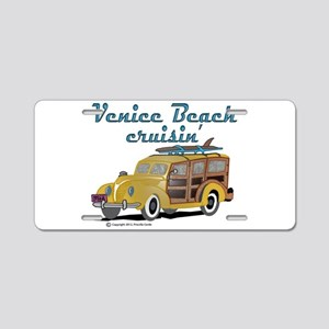 Venice Beach Cruisin Aluminum License Plate