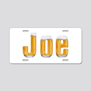 Joe Beer Aluminum License Plate