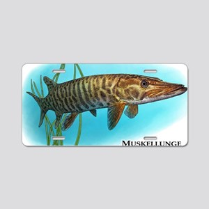 Muskellunge Aluminum License Plate
