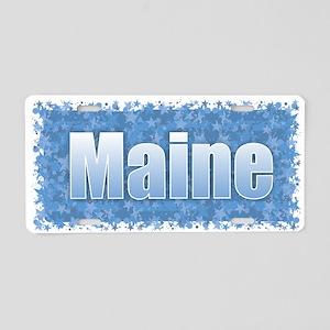 Maine Star Aluminium License Plates - CafePress
