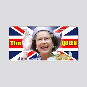 HM Queen Elizabeth II Aluminum License Plate