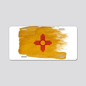 New Mexico Flag Aluminum License Plate