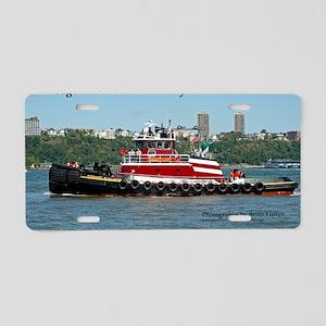 Tug Aluminum License Plates - CafePress