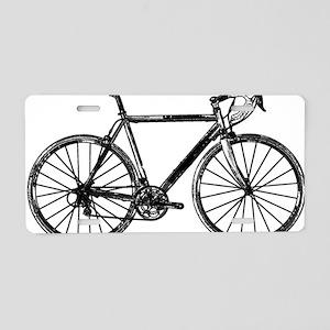 Road Bike Aluminum License Plate