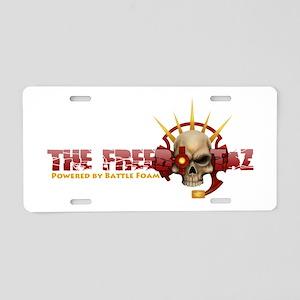 The Freebootaz Logo Aluminum License Plate