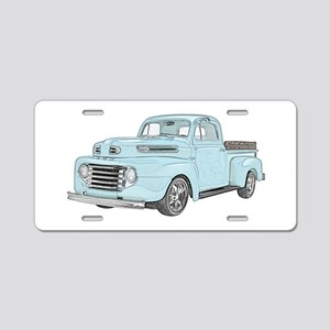 1950 Ford F1 Aluminum License Plate