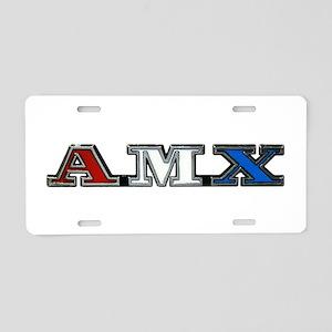 AMX Aluminum License Plate