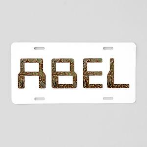 Abel Circuit Aluminum License Plate