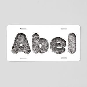 Abel Wolf Aluminum License Plate