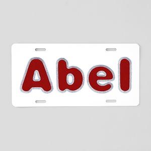 Abel Santa Fur Aluminum License Plate