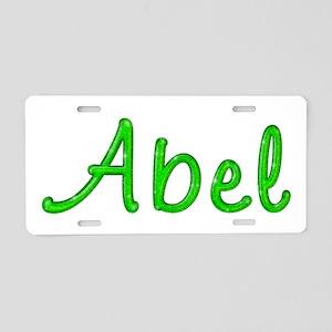 Abel Glitter Gel Aluminum License Plate