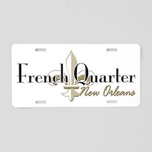 French Quarter NO Aluminum License Plate