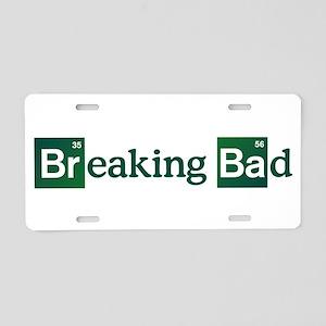 Breaking Bad Logo Aluminum License Plate