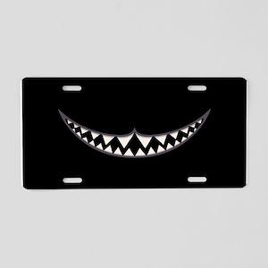 Cheshire Grin II Aluminum License Plate