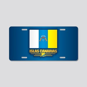 Canary Islands Aluminum License Plate