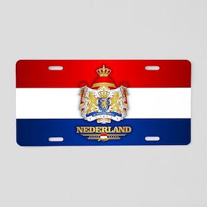 Nederland Aluminum License Plate