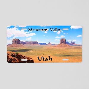 Artist's Point Aluminum License Plate