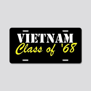 Vietnam Class Of 1968 Aluminum License Plate