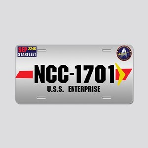 1701 Aluminum License Plate