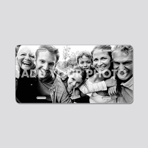 Add Your Photo Aluminum License Plate