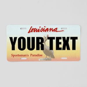 Louisiana Custom License Plate