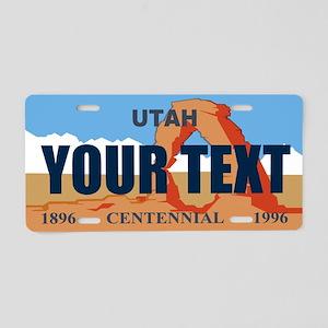 Utah - Centennial license plate replica