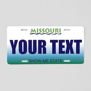 Missouri - River Graphics license plate replica