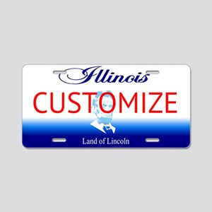 Illinois Custom Aluminum License Plate