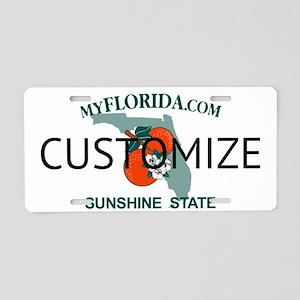 Florida Custom Aluminum License Plate