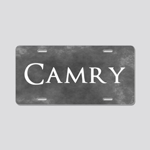 Grey Camry Aluminum License Plate