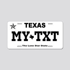 Texas 2013 - Current Aluminum License Plate