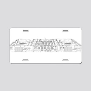 My DJ Setup Aluminum License Plate