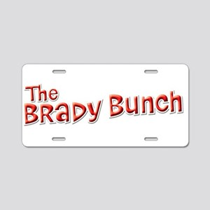 The Brady Bunch Aluminum License Plate