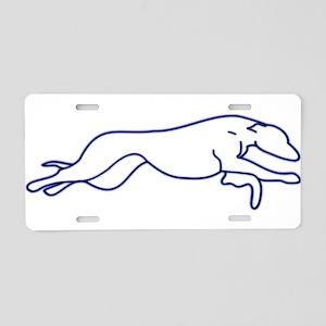 More Random Greyhound Stuffs! Aluminum License Pla