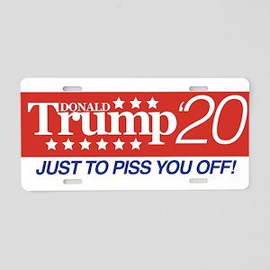 Donald Trump '20 Dark Aluminum License Plate