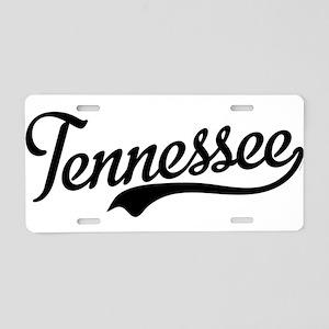 Tennessee Script Aluminum License Plate