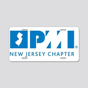 Pminj Aluminum License Plate