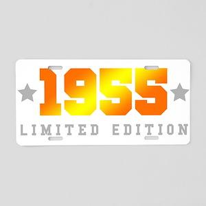 Limited Edition 1955 Birthday Aluminum License Pla