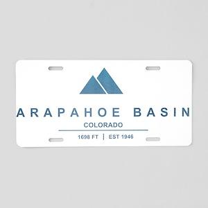 Arapahoe Basin Ski Resort Colorado Aluminum Licens