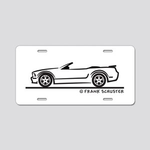 New Ford GT Mustang Convertib Aluminum License Pla