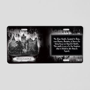 Bran Castle Historical Mug Aluminum License Plate